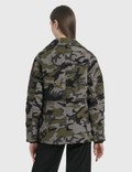 Canada Goose Expedition Chelsea Parka Camo Coastal Grey Women