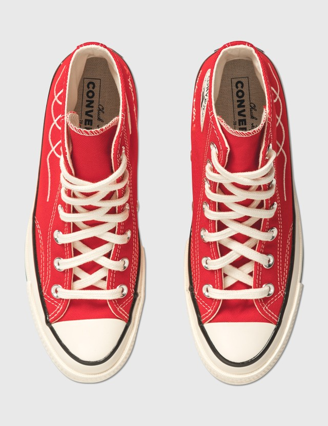 Converse Chuck 70 Hi University Red/egret/black Women