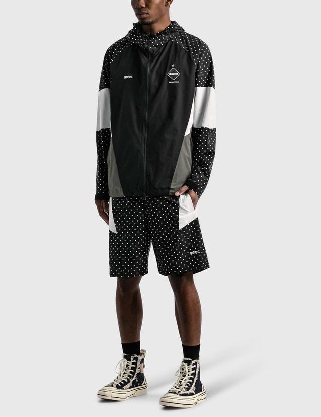 F.C. Real Bristol Multi Pattern Jacket Black Men
