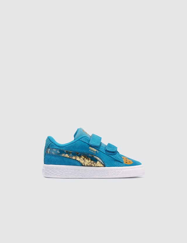 Puma Puma x Sesame Street 50 Suede Statement V (Infants) White Kids