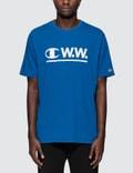 Champion Reverse Weave Wood Wood x Champion Logo S/S T-Shirt Picture