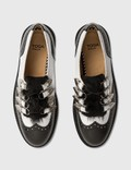 Toga Pulla Leather Shoes With Fur Details