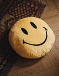 Chinatown Market Smiley Pillow Yellow Unisex