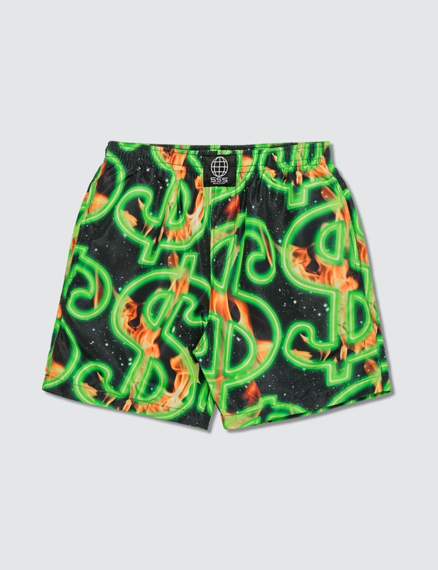 SSS World Corp Fire Dollar Fire Quickdry Swimsuit