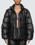 Alexander Wang Chynatown Pleather Nylon Puffer Jacket Picture