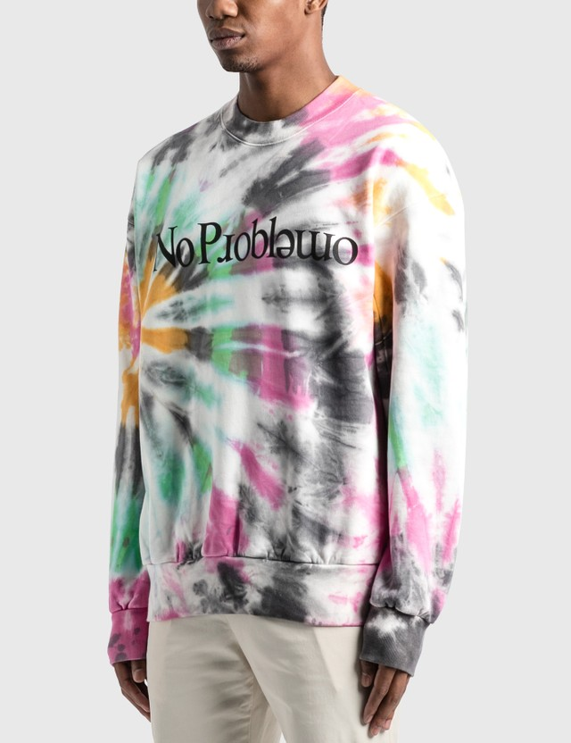Aries Tie Dye Problemo Sweatshirt Multicolor Men
