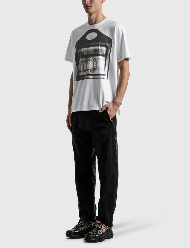 Burberry Pocket Bag Print Cotton Jersey T-shirt White Men