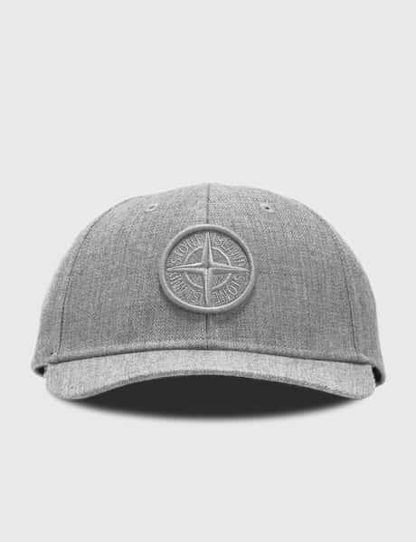 스톤 아일랜드 Stone Island Embroidered Compass Logo Cap