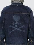 Mastermind World Hooded Layer Skull Denim Jacket