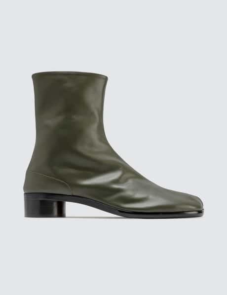 메종 마르지엘라 타비 남성 앵클 부츠  Maison Margiela Tabi Leather Ankle Boots