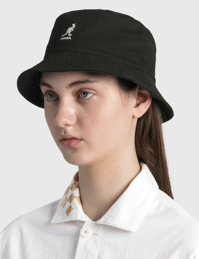 Kangol Washed Bucket Black Women