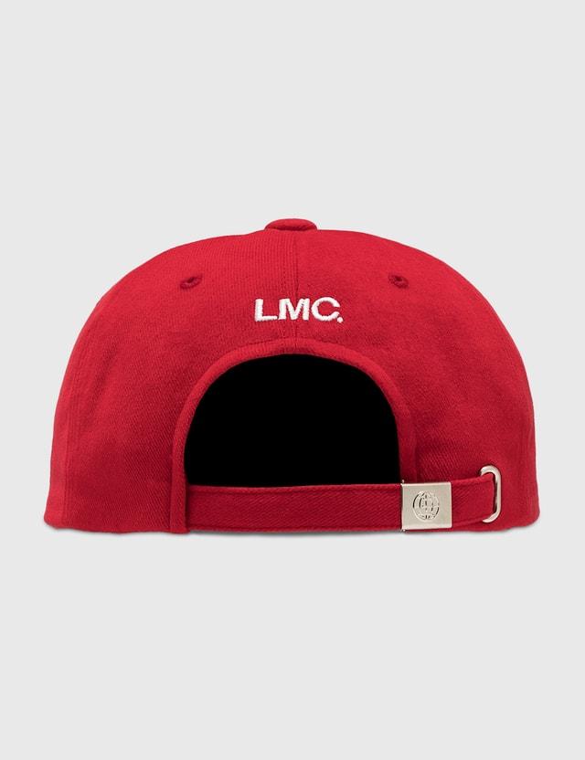 LMC Mass 6 Panel Cap Red Men