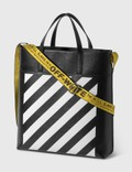 Off-White Diag Leather Tote Bag Picture