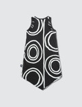 NUNUNU Circle Tank Top Dress