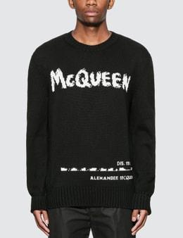 Alexander McQueen McQueen Crew Neck Pullover