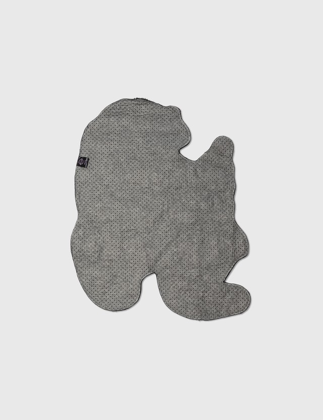 RAW EMOTIONS Small Mascot Kirin Rug Grey Life
