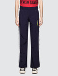 Calvin Klein Performance Side Clrblk Wvn Pant