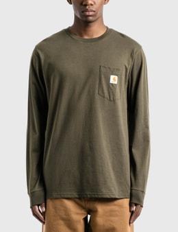 Carhartt Work In Progress Pocket Long Sleeve T-Shirt