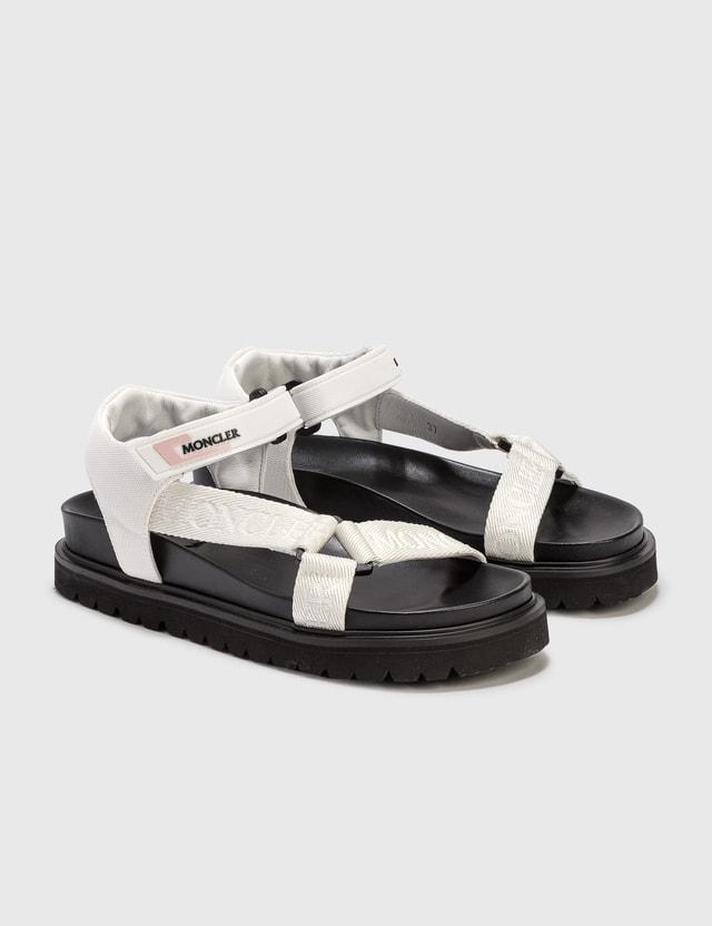 Moncler Flavia Sandals White Women