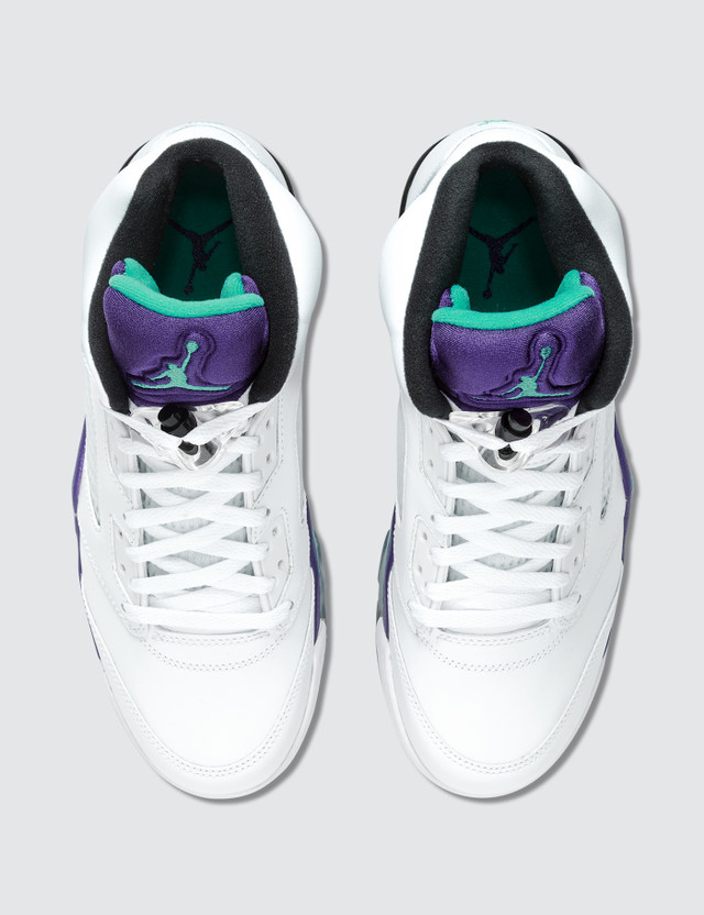 Jordan Brand Air Jordan 5 Retro 2013 White Grape