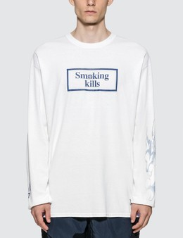 #FR2 #FR2 X One Piece Action Smoker Long Sleeve T-shirt