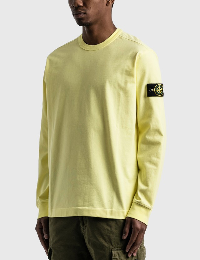 Stone Island Lightweight Sweatshirt Lemon Men