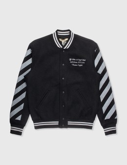 Off-White Off-White Wool Bomber Jacket
