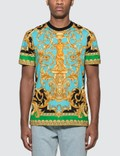 Versace Barocco Homme Print T-Shirt Picture