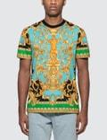 Versace Barocco Homme Print T-Shirt Picutre