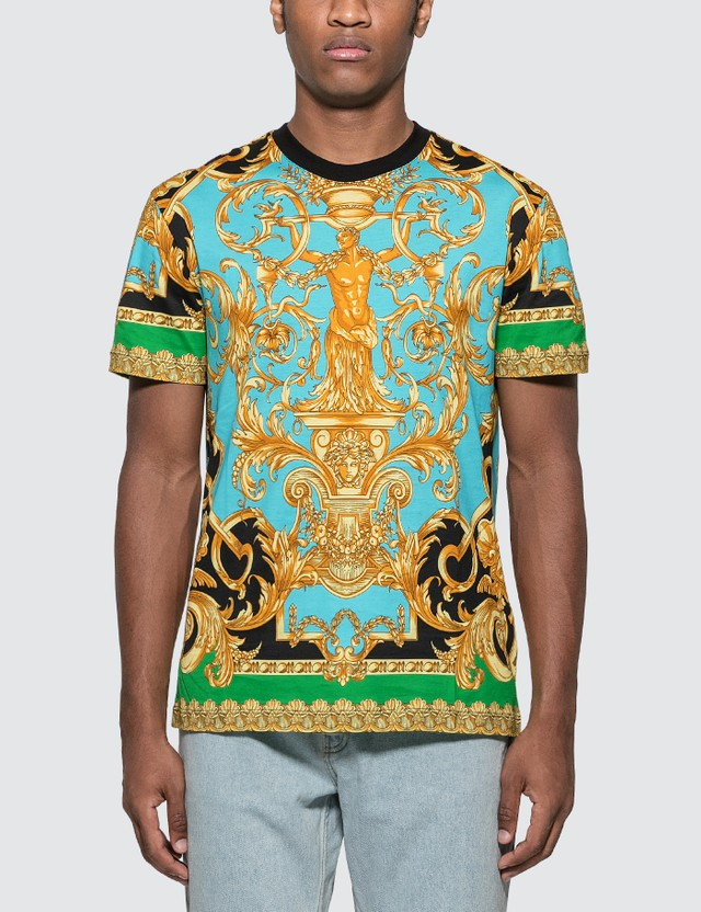 Versace Barocco Homme Print T-Shirt