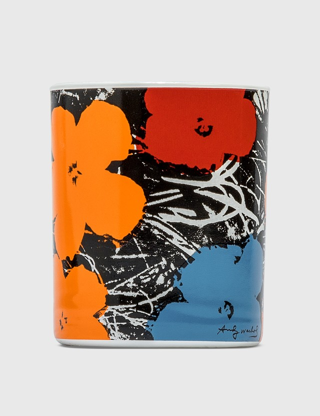 Ligne Blanche Andy Warhol's Flowers Candle Multicolor Men