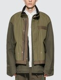 Sacai Fabric Combo Jacket 사진