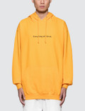 """Fuck Art, Make Tees """"Everything Will Be OK"""" Hoodie Picture"""