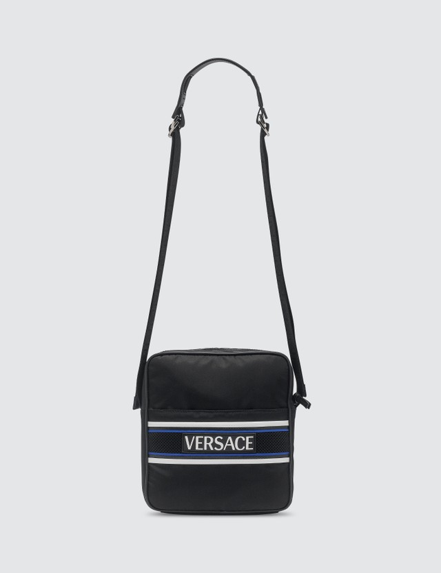 Versace Olympus Logo Shoulder Bag