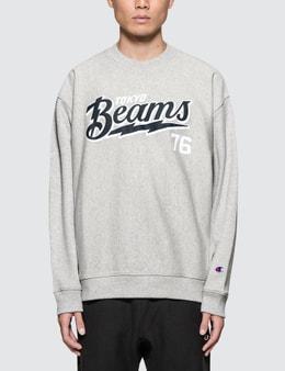 Champion Reverse Weave Beams x Champion Script Logo Sweatshirt