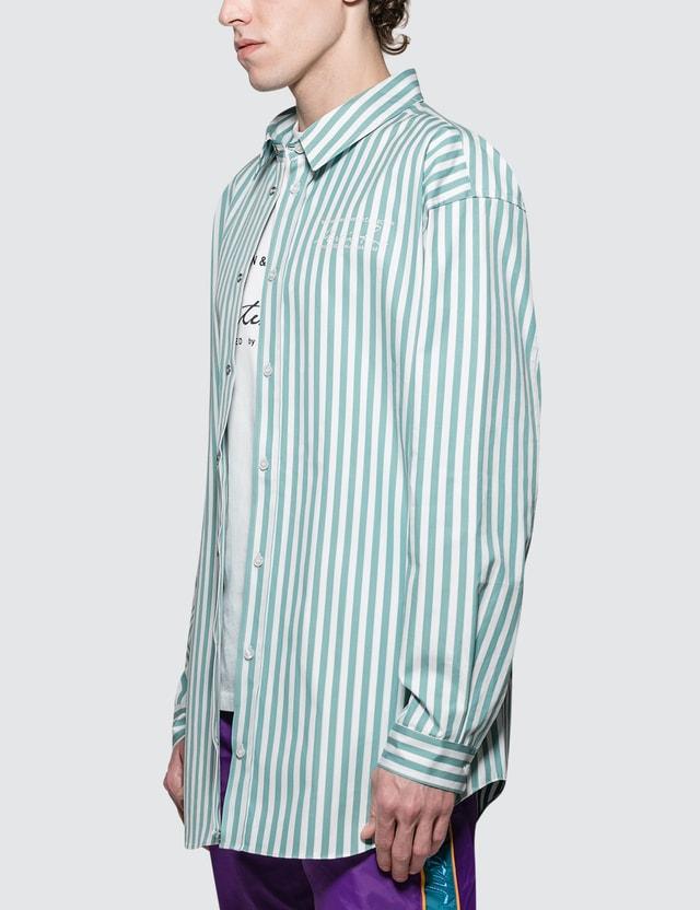 Martine Rose Oversized Bounded Shirt White/mint Men