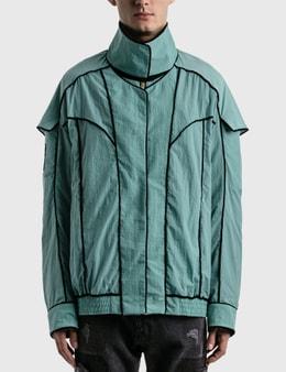 We11done Mint Velvet Lining Bomber Jacket
