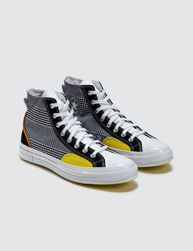 Converse Chuck 70 Black/white/speed Yellow Men