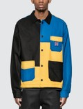 Brain Dead Colorblocked Canvas Chore Coat Picture