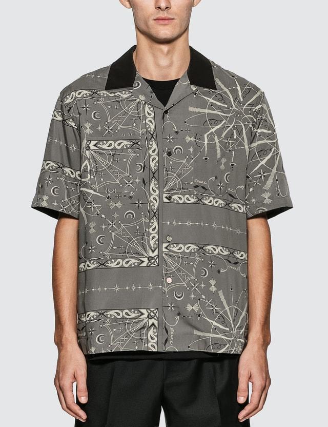 Sacai Sacai x Dr. Woo Bandana Print Shirt