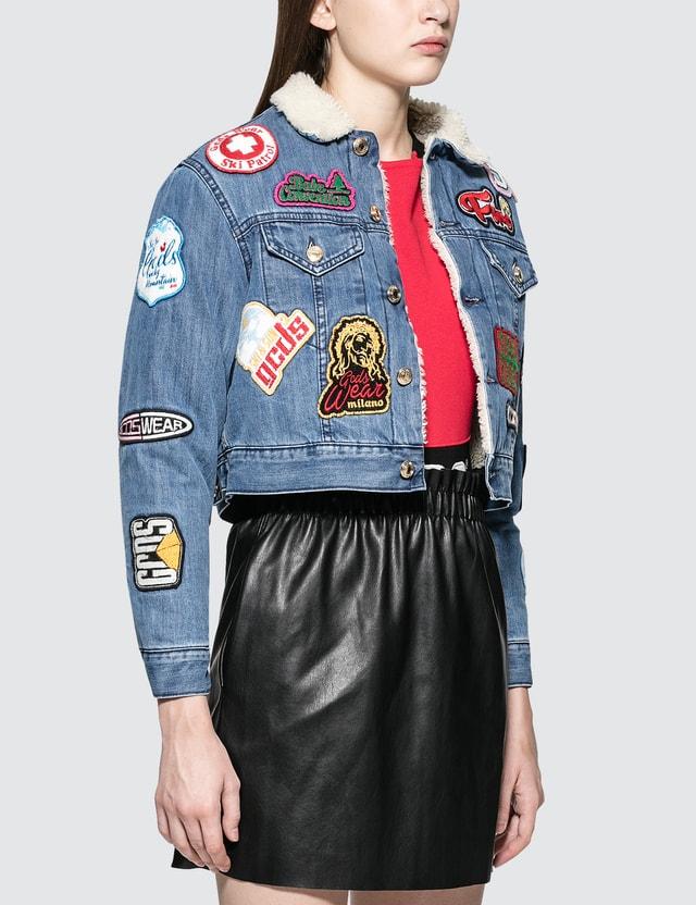 GCDS Patch Denim Jacket