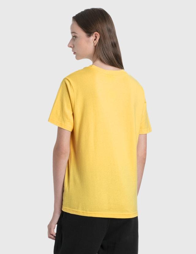 Stussy Big U 티셔츠 Yellow Women