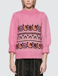 Ganni Jacquard Knit Pullover Picture