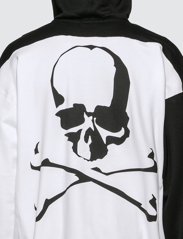 Mastermind World Back Logo Print Full Zip Hoodie