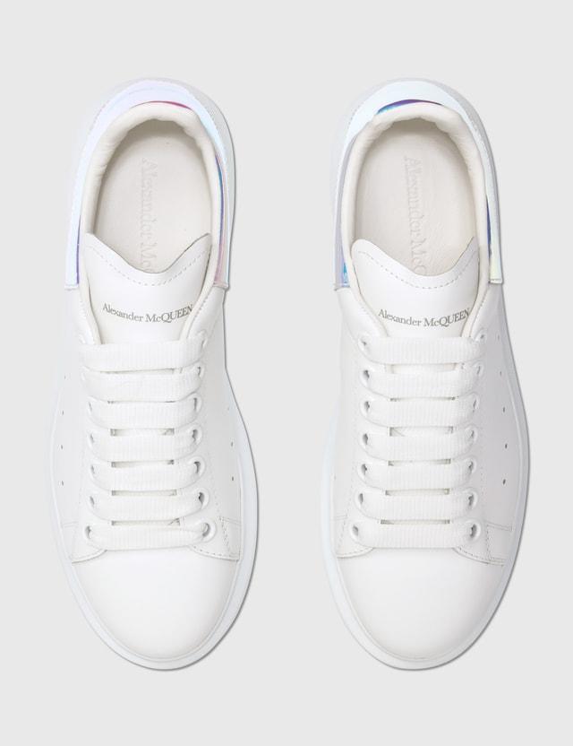 Alexander McQueen Oversized Sneakers White/shock Pink Women