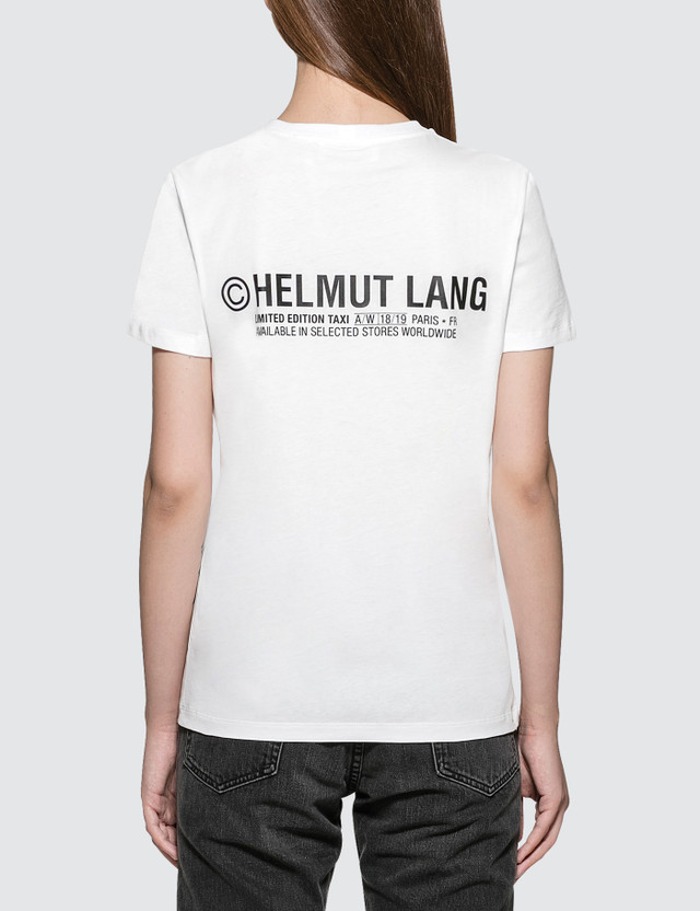 Helmut Lang Taxi Short Sleeve T-shirt - Paris Edition