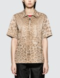 Burberry Lepoard Print Short Sleeve Shirt Picture