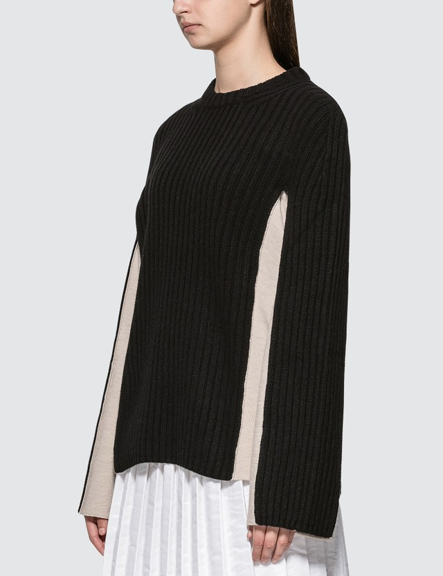 Maison Margiela Full Needle Side Knitted Pullover