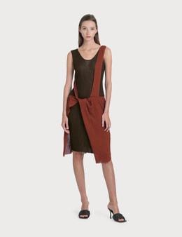 Bottega Veneta Knit Dress With Knock