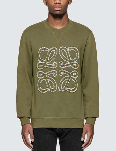 eaf06596af Loewe · Flower Anagram Sweatshirt